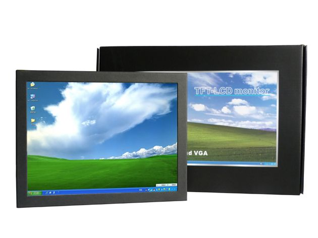 10 Inch Small Touch Screen Open Frame Touch Monitor With 450cd M2 Touch Screen Lcd Monitor Open Frame