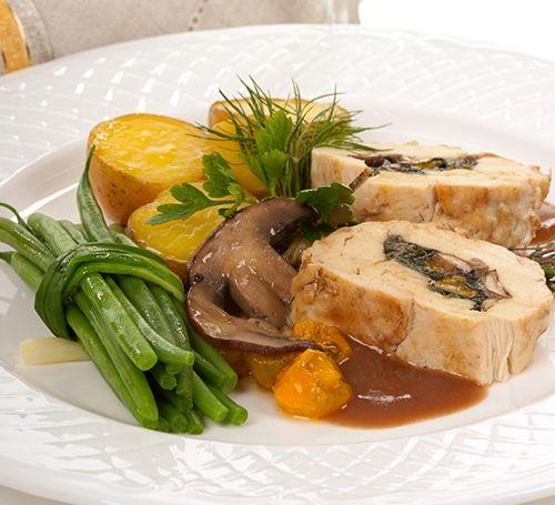Salsa para pollo relleno te ense amos a cocinar recetas for Facil de cocinar