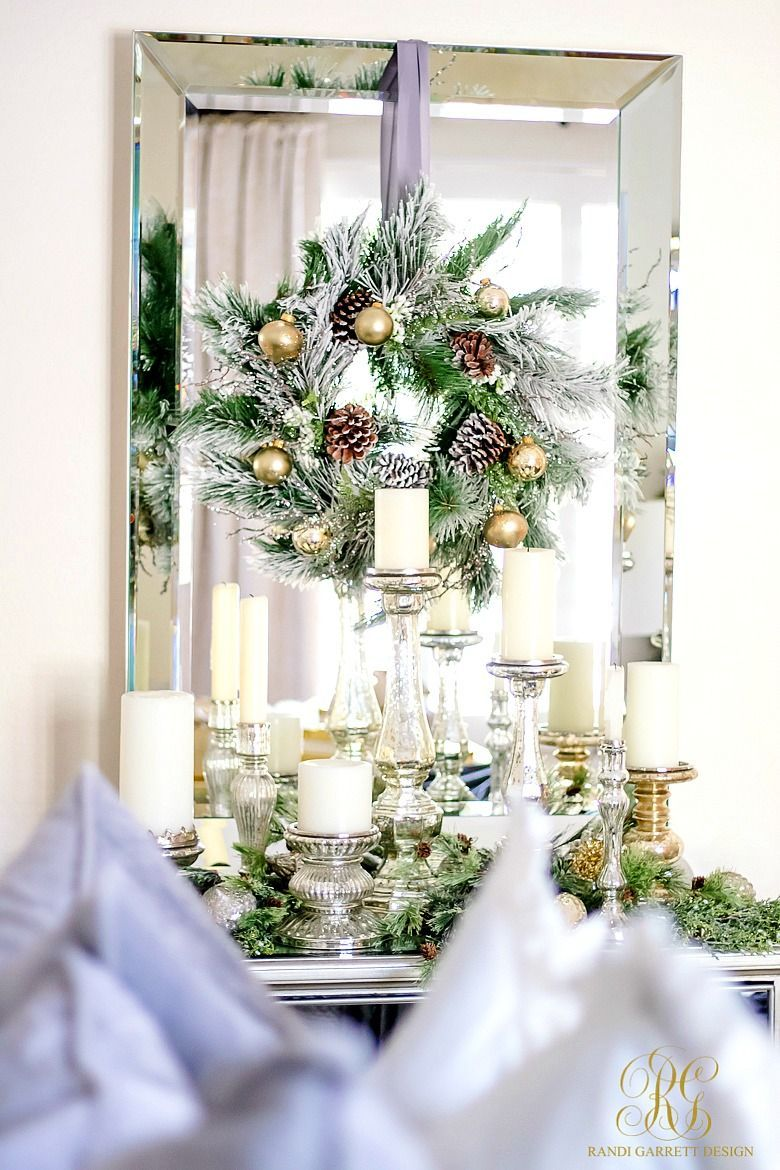 Simply Christmas Home Tour - Winter Wonderland Bedroom - Randi ...