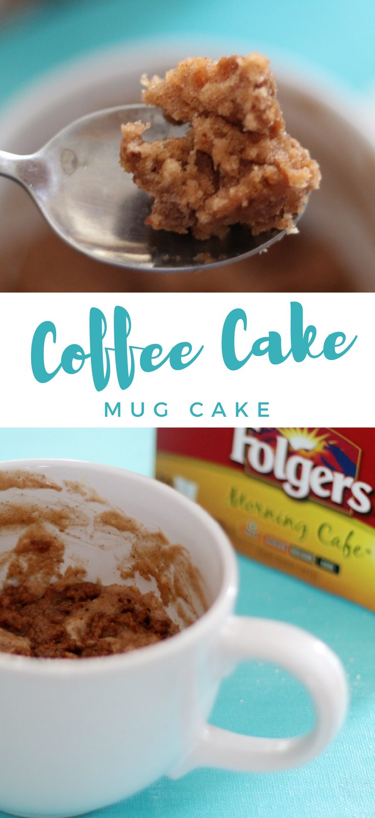Coffee Cake Mug Cake Recipe Mug cake, Coffee cake