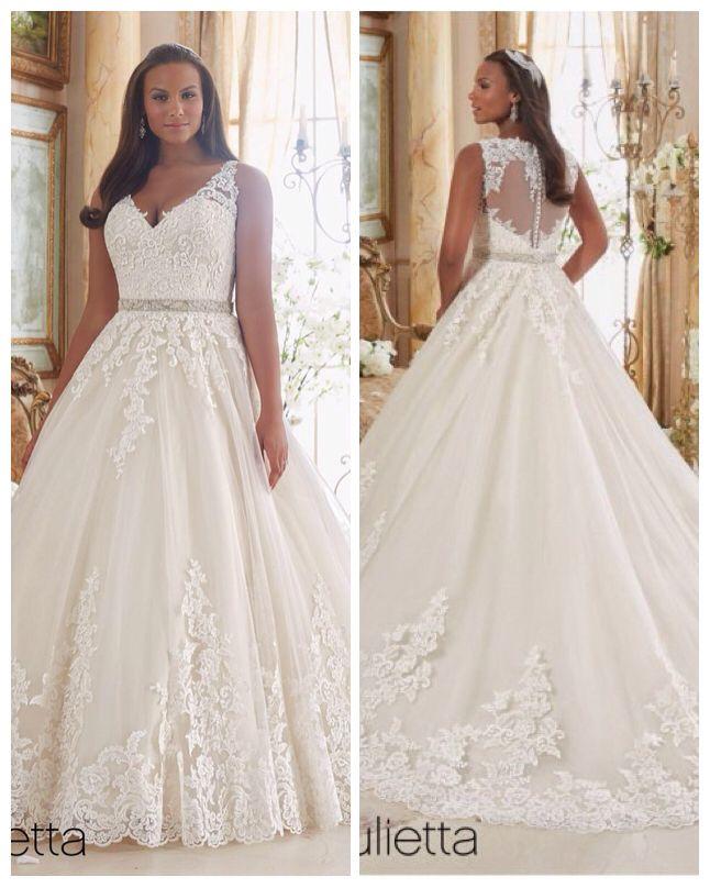 Gorgeous lace Aline gown with illusion back! Gorgeous lace Aline gown with  illusion back! Wedding Dresses Plus Size ... e2fe71a7501d