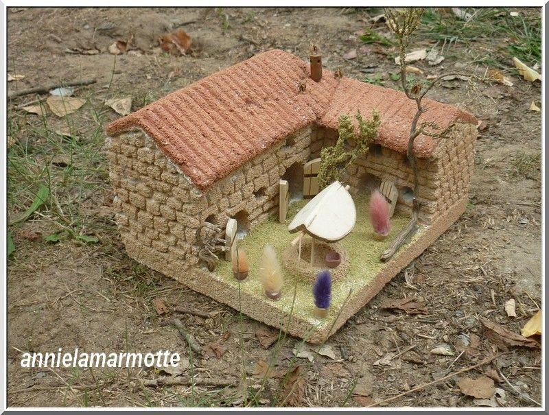 une maison de provence en siporex cr ations pinterest craft. Black Bedroom Furniture Sets. Home Design Ideas