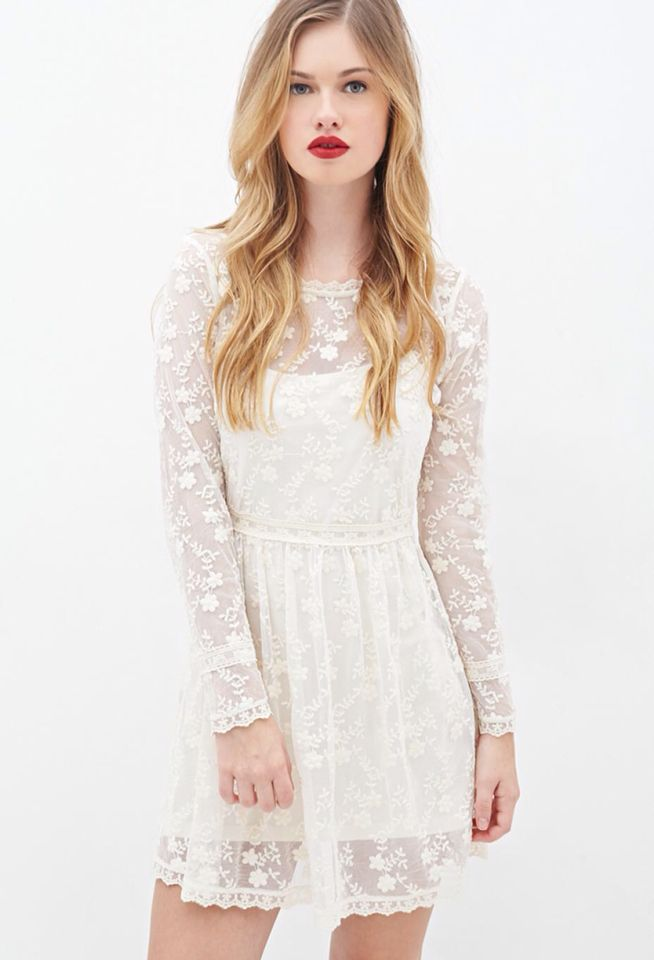 Country casuals lace cornelli dress