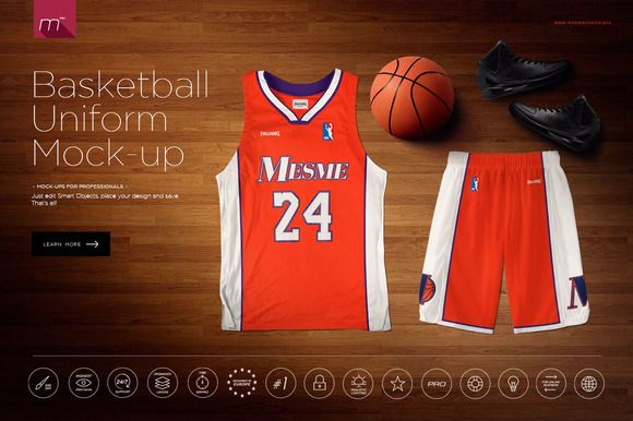 Download Basketball Uniform Mock Up Basketball Uniforms Basketball Basketball Uniforms Design