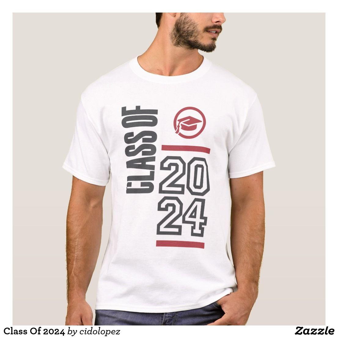Class of 2024 tshirt t shirt school