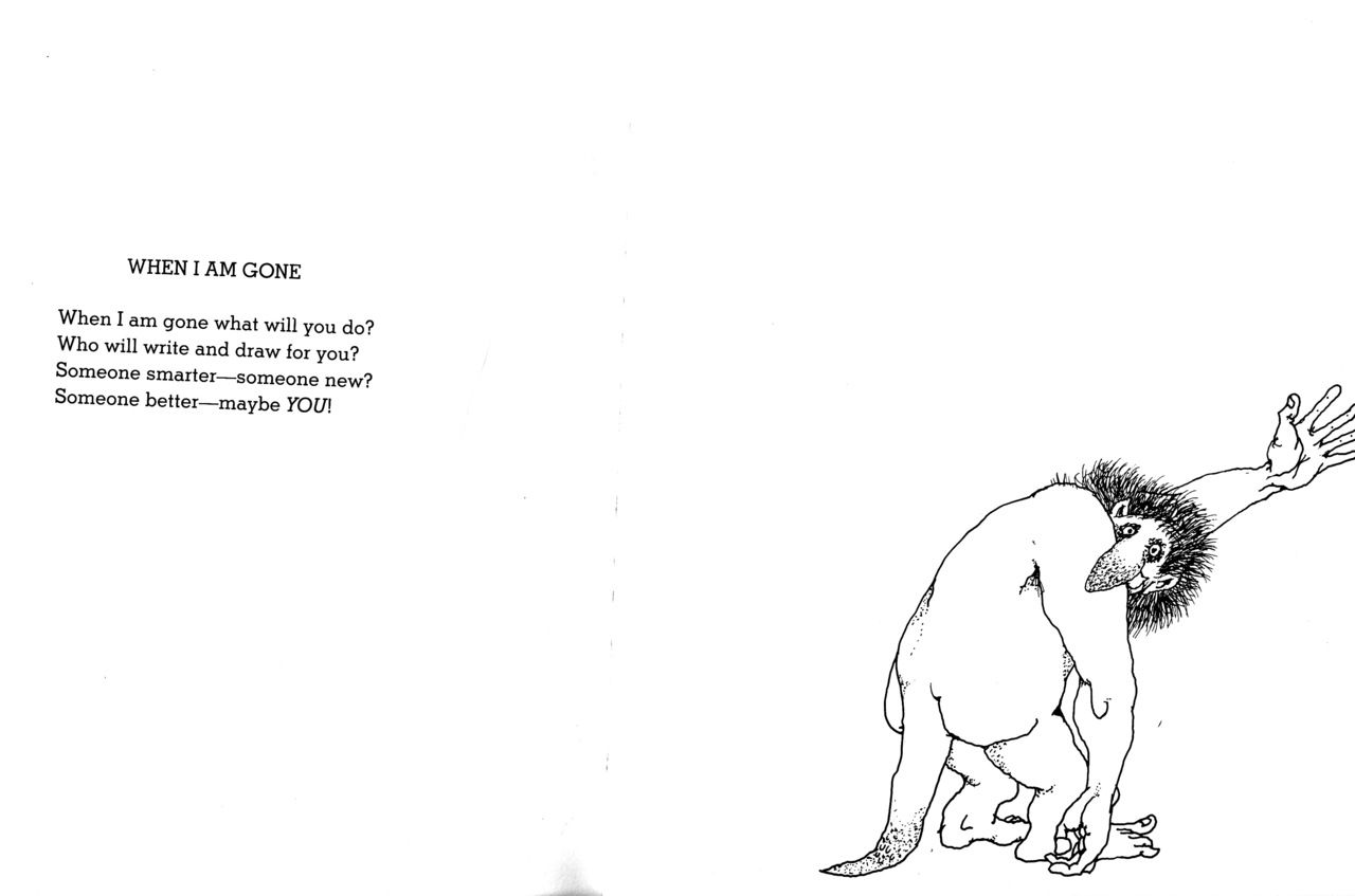 Shel Silverstein Quotes About Love: From Every Thing On It...this Made Me Cry!