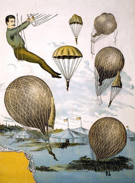 Aerial Balloon Performance Circus Poster | eBay
