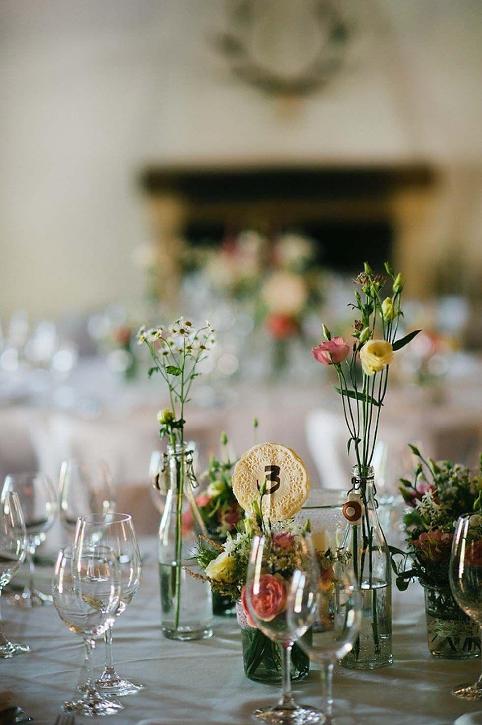 25 Einfache Tischdeko Hochzeit Decoration Wedding Wedding