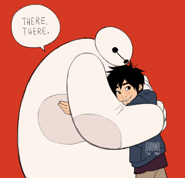 (baymax hugs are my favorites)