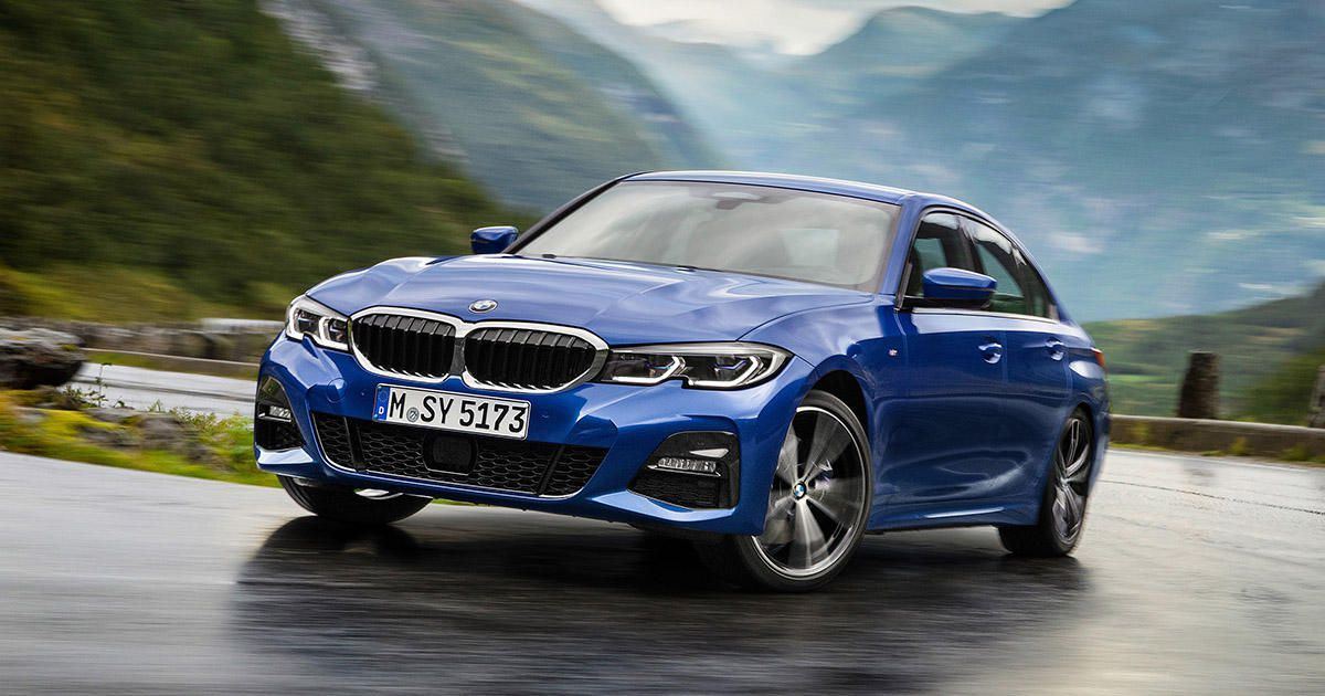 2019 Bmw 3 Series Gets Trick Chassis And Idrive Tech 40 200