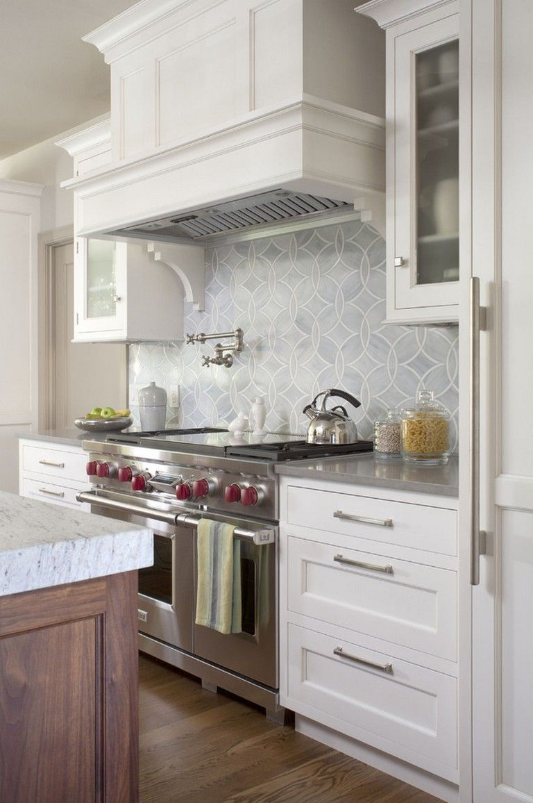 20+ Classy Transitional Kitchen Designs For Your Home in