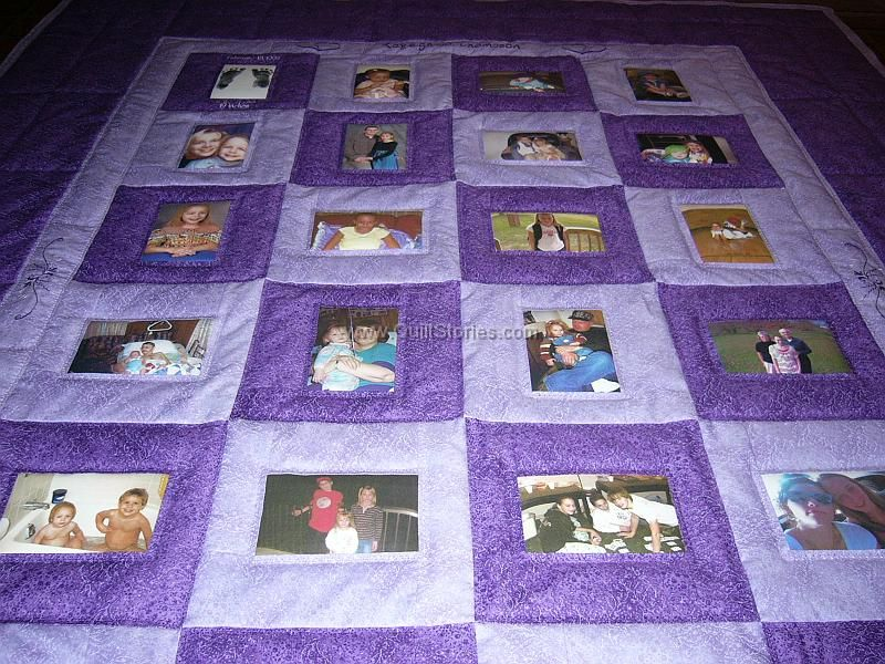 best quilt patterns for memory quilts images - Yahoo Search ... : personalized photo quilt - Adamdwight.com