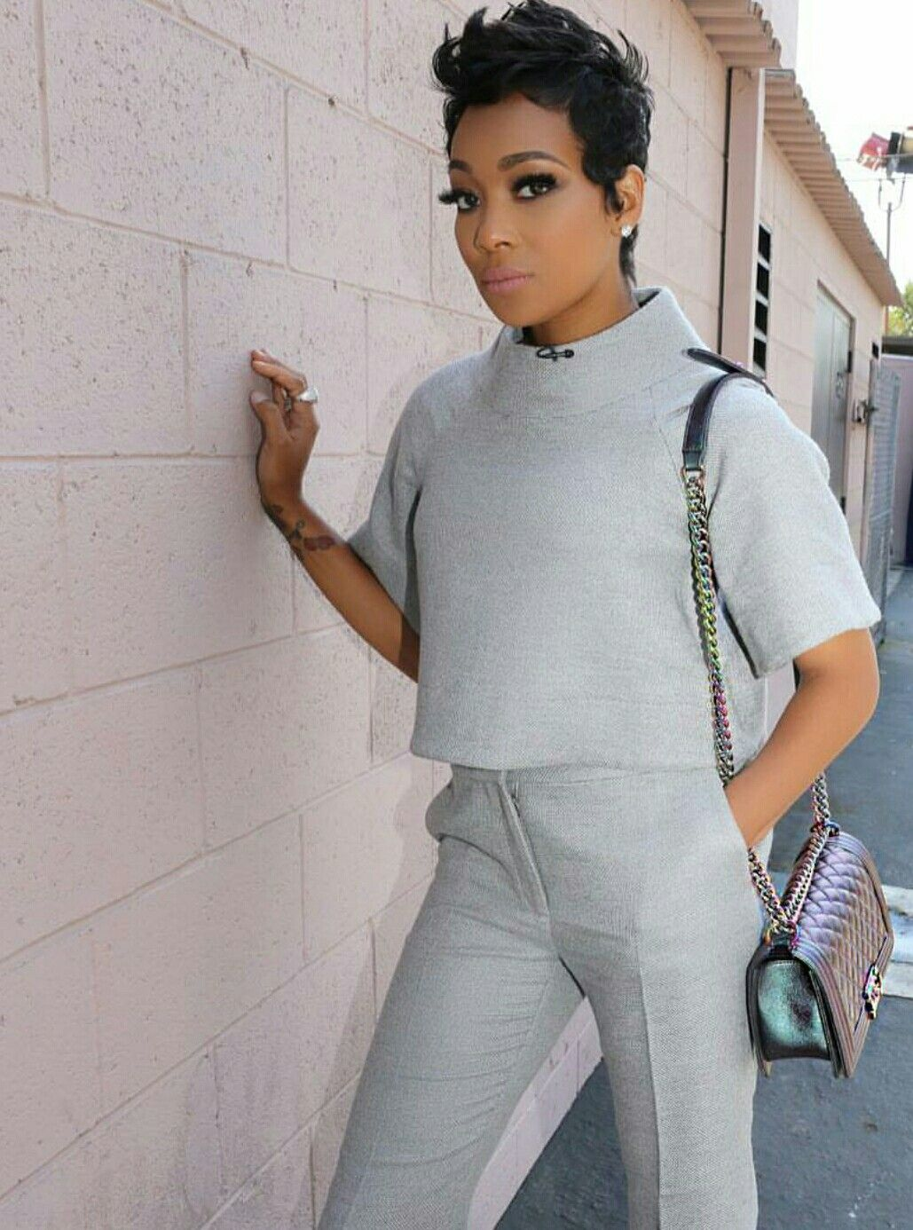 monica brown celebrity short