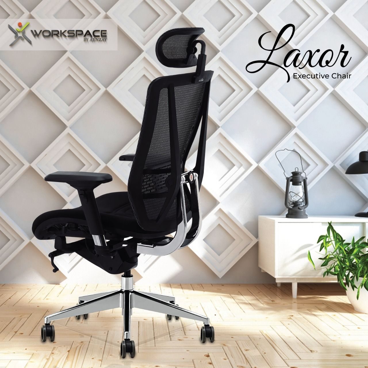 Laxor Executive Office Chair With Multiple Ergonomic Features