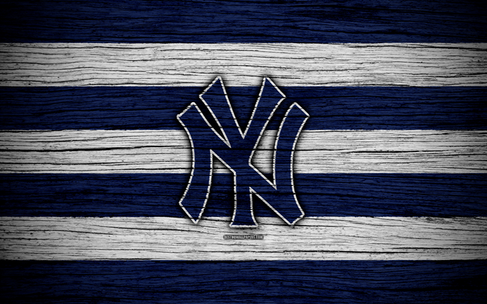 Download Wallpapers New York Yankees 4k Mlb Baseball Usa