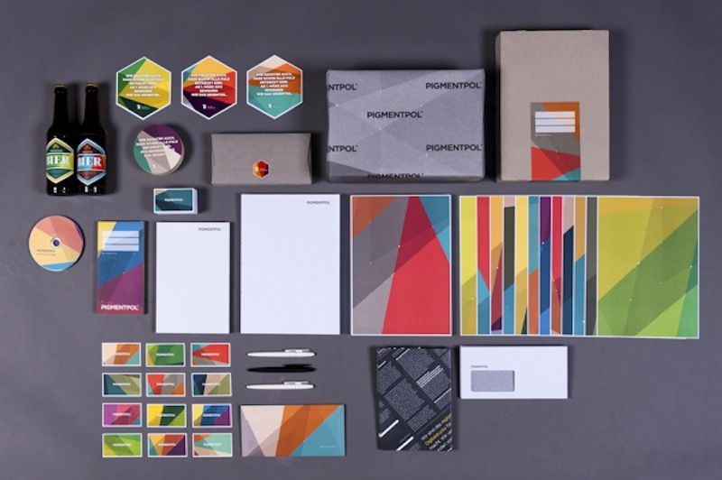 Colorful Branding of PIGMENTPOL | SmokingDesigners