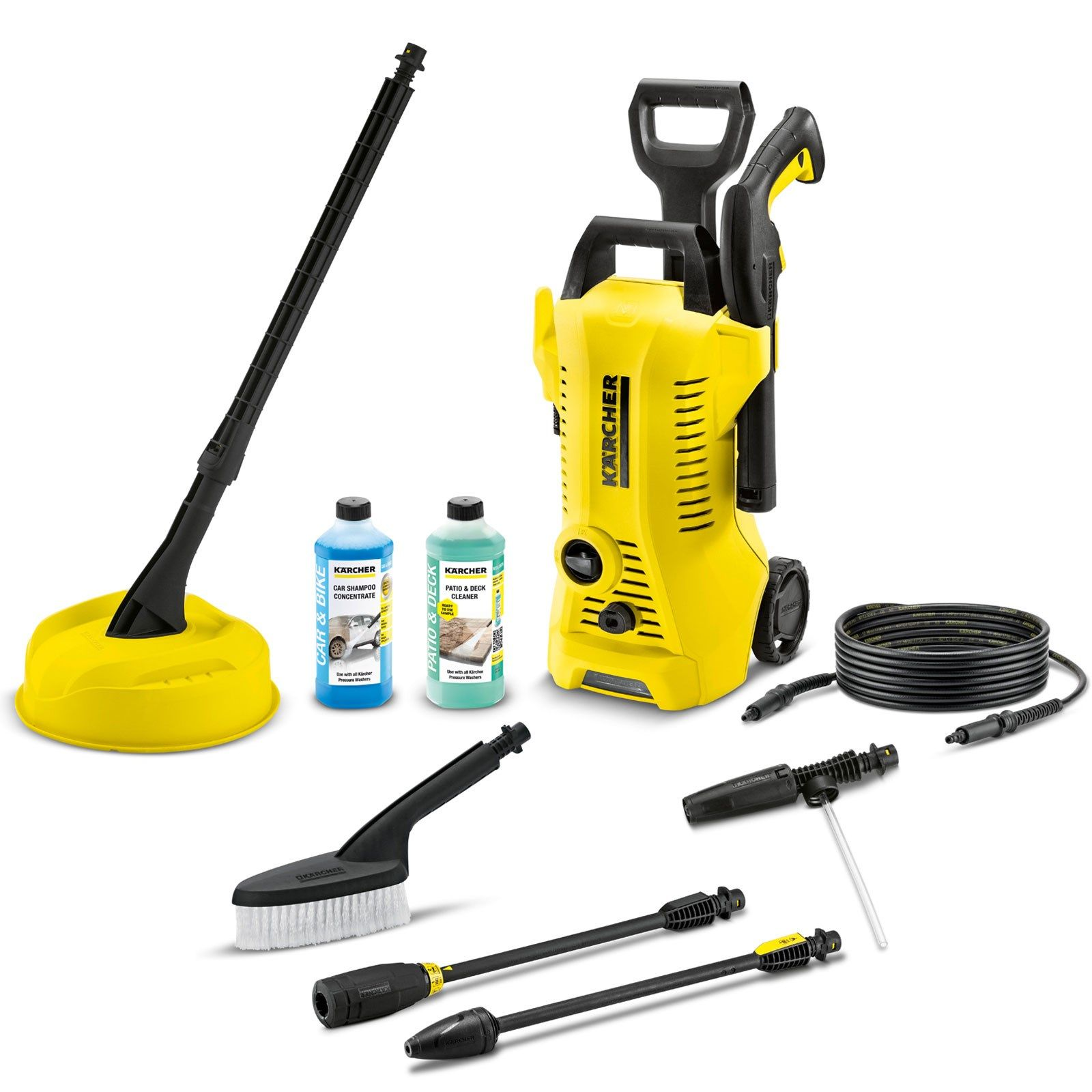 The K2 Premium Full Control Home Pressure Washer is the