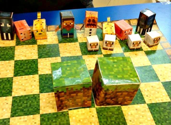 Minecraft Bedroom Designs Real Life papercraft person - google search | juegos de mesa | pinterest