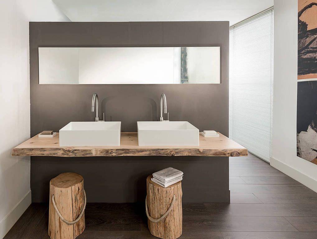 Bagno rustico ~ Piano bagno in cirmolo arredo pinterest bagno bagni e