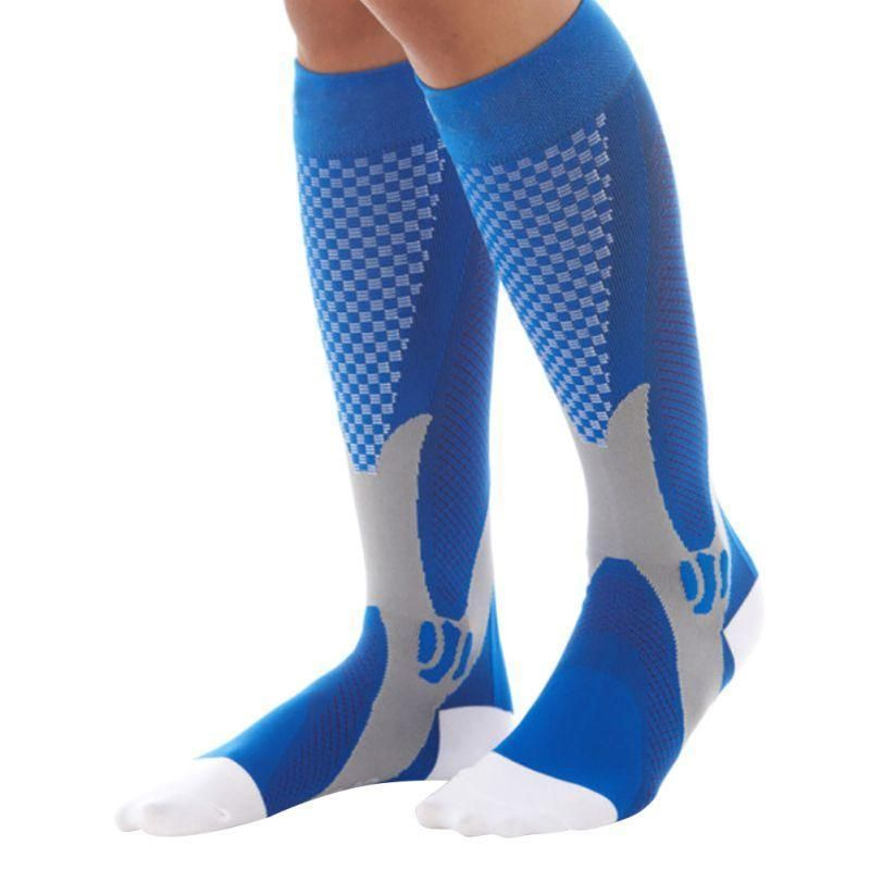 Underwear & Sleepwears Just 1pair Hot Unisex Leg Support Stretch Magic Compression Socks Fitness Anti Fatigue Socks Men Women Performance