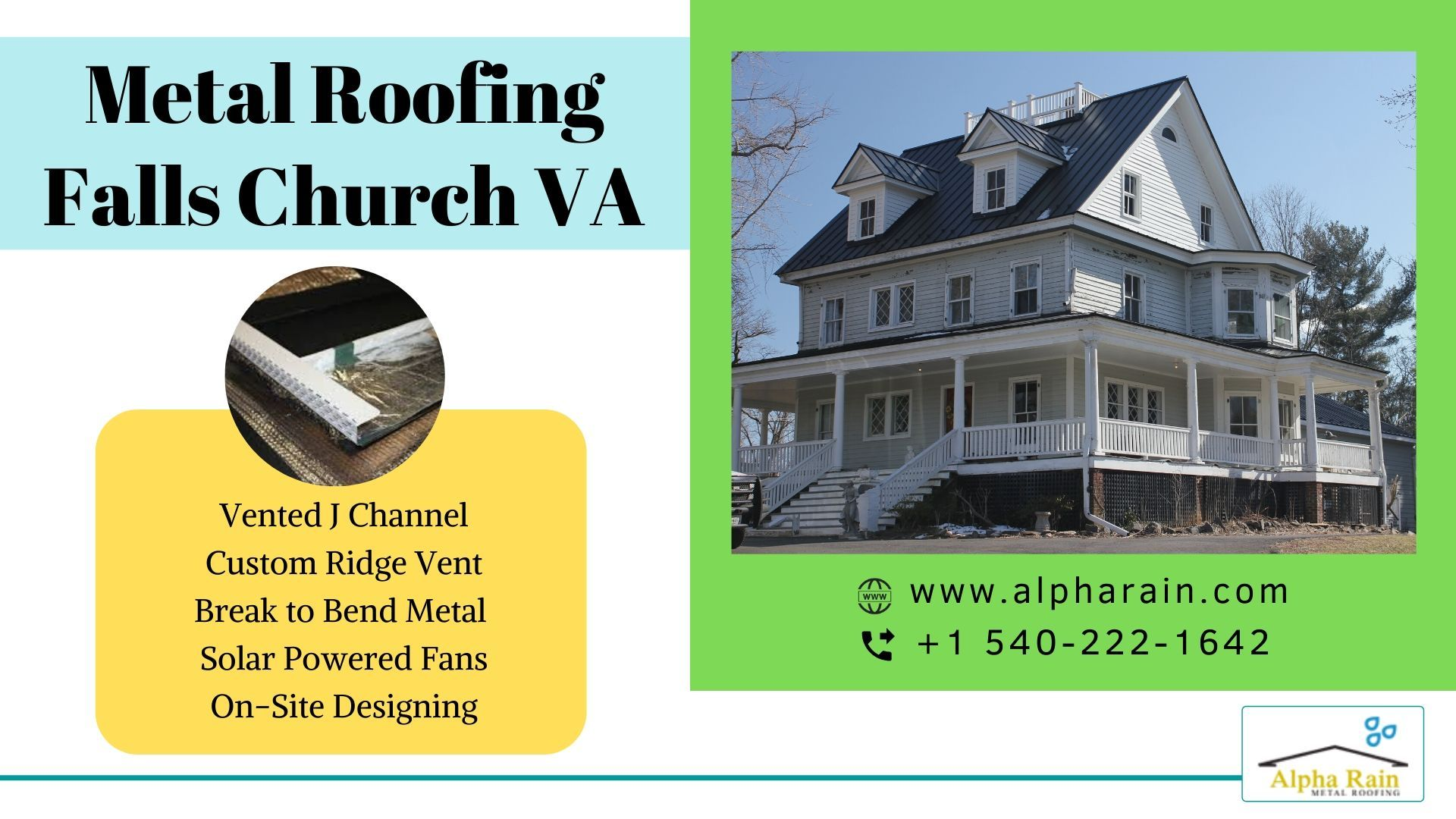 Install Ridge Vents On Metal Roofing Falls Church Va In 2020 Metal Roof Falls Church Ridge Vent