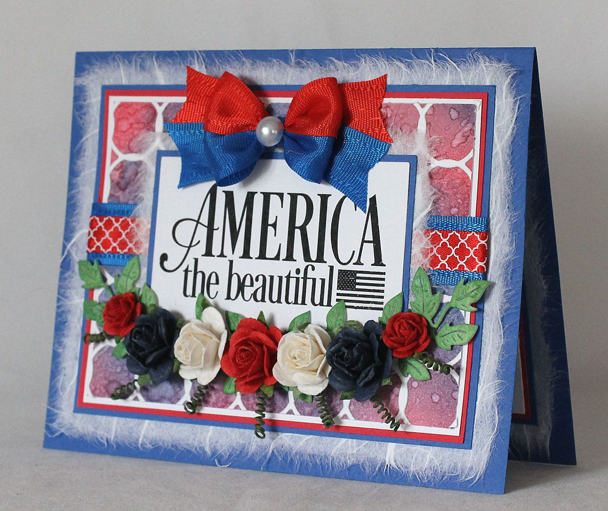 I Don T Know What It Is About The Red White And Blue Color Combination But It Just Seems To Sing On Every Project This Month The Card Making Cards Crafts