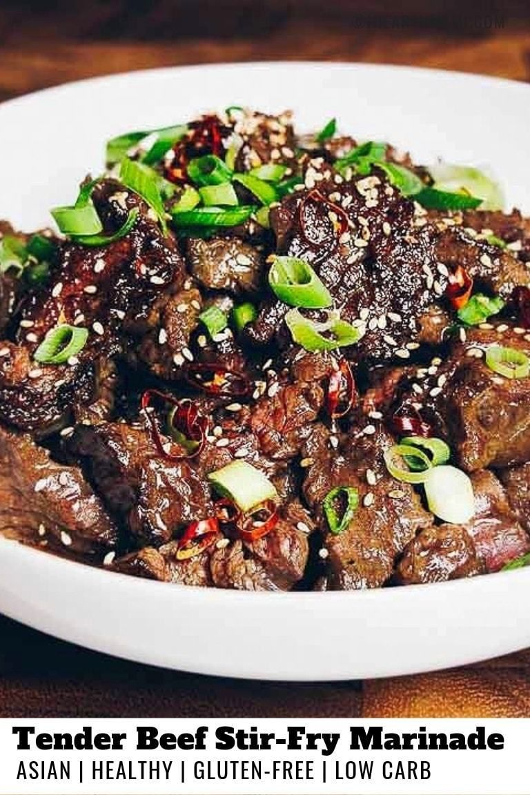 How to make beef stir-fry tender #howtostirfry