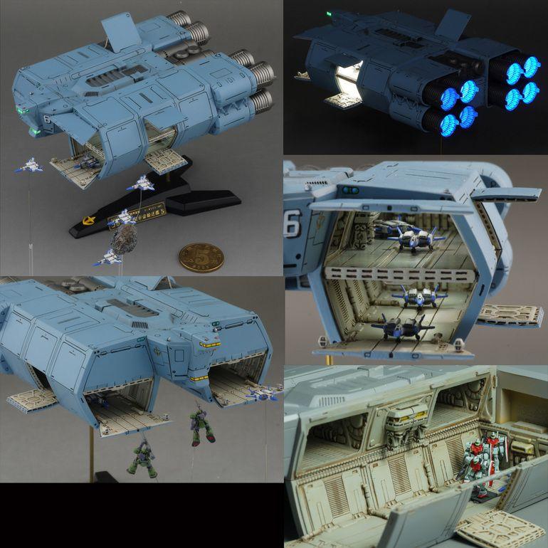 1/700 Fleetmo EFSF The Origin Fleet - Scratch Build ...