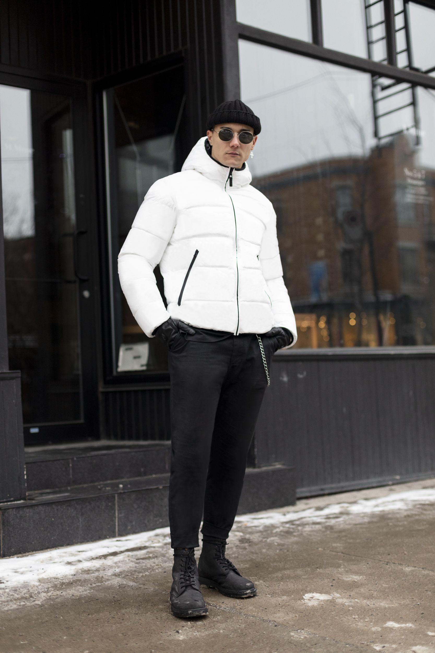 Rudsak Fw19 Men S Black Off White Puffer Dero White Puffer Mens Winter Fashion Black Exterior [ 2500 x 1667 Pixel ]
