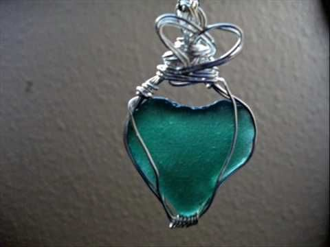 Ideas For Sea Glass Instructions Wire Ideas For Jewelry