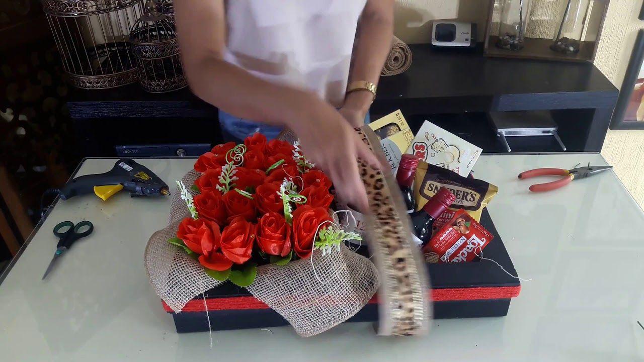 Arreglo Con Rosas Para Mama Manualidades De Vero Make It Yourself Gift Wrapping Youtube