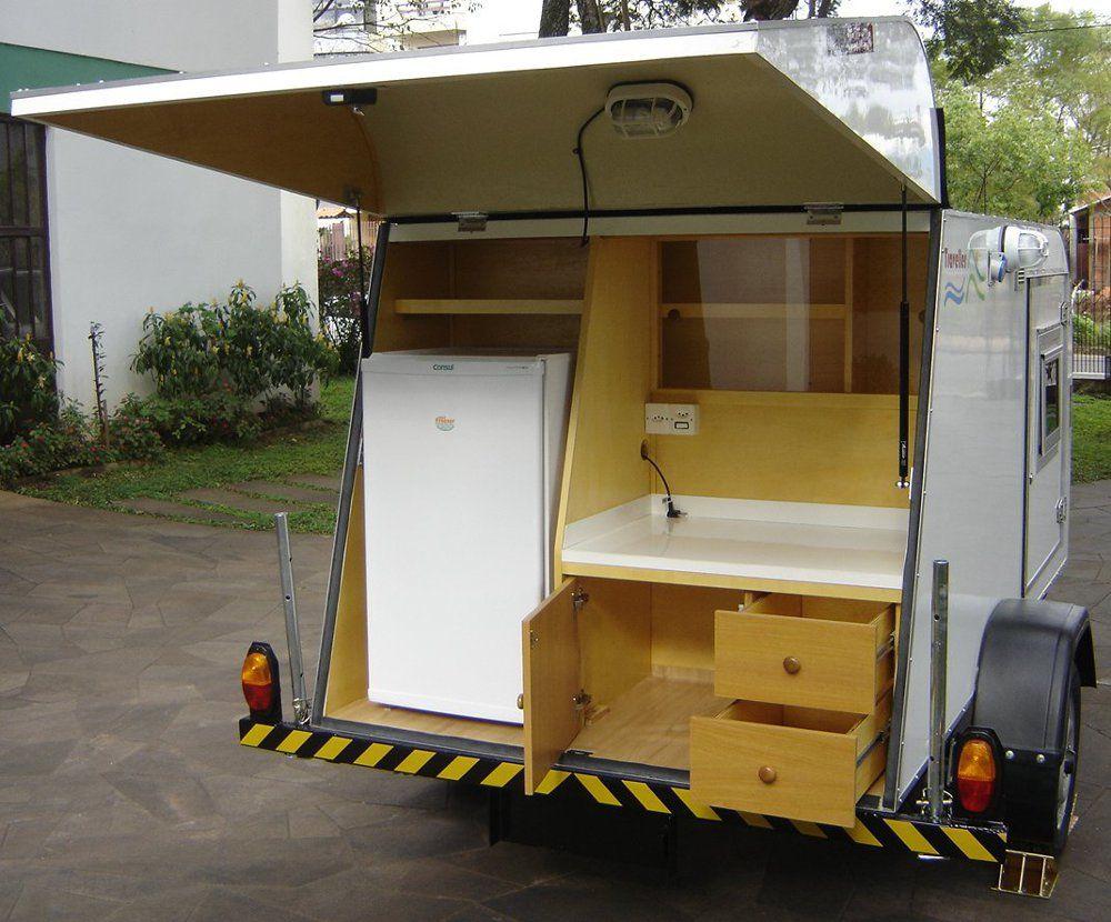 Mini Trailer Traveller Little Traveller Cargo Traveller Calcos