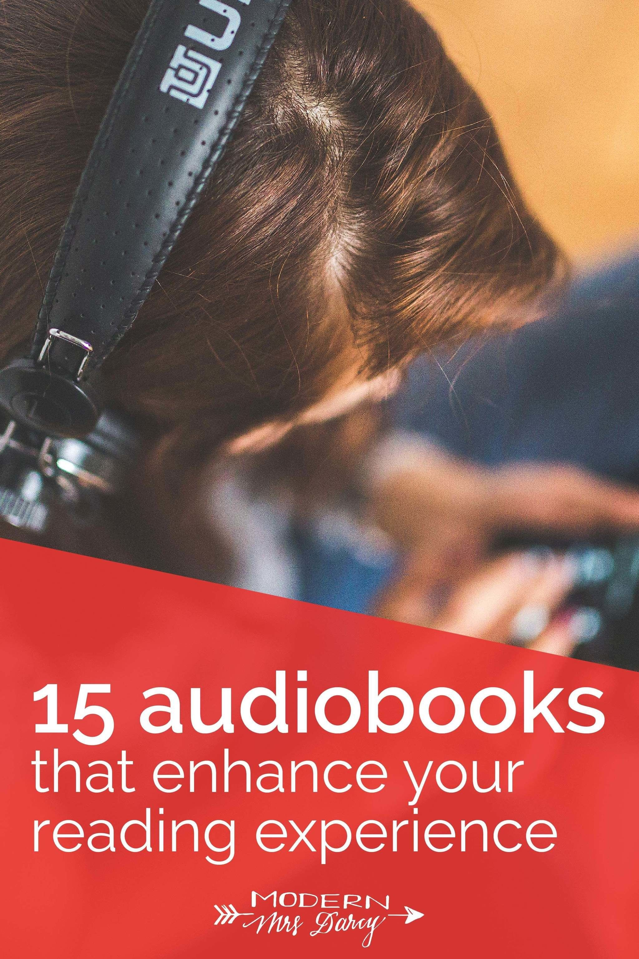 15 Audiobooks That Enhance Your Reading Experience Modern Mrs Darcy In 2020 Audio Books For Kids Audio Books Audiobooks