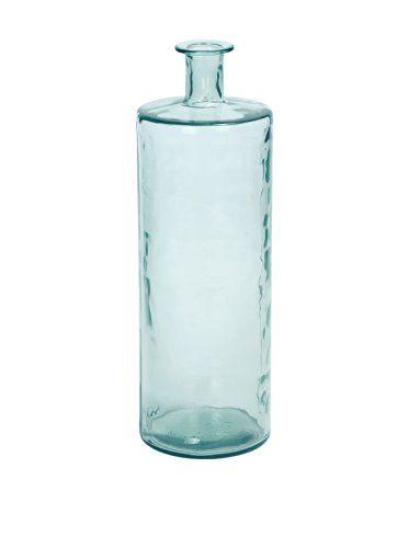 Turquoise Wavy Recycled Glass Vase, Tall UMA Enterprises http://www.amazon.com/dp/B00JXFTP7W/ref=cm_sw_r_pi_dp_-3Sjvb17ACT7S