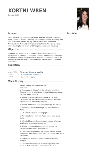 Einzelhandel Lebenslauf Vorlage Beispiele 2019 - Resume ...
