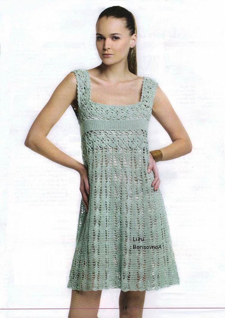 sukienka | Kraina wzorów szydełkowych...Land crochet patterns ...
