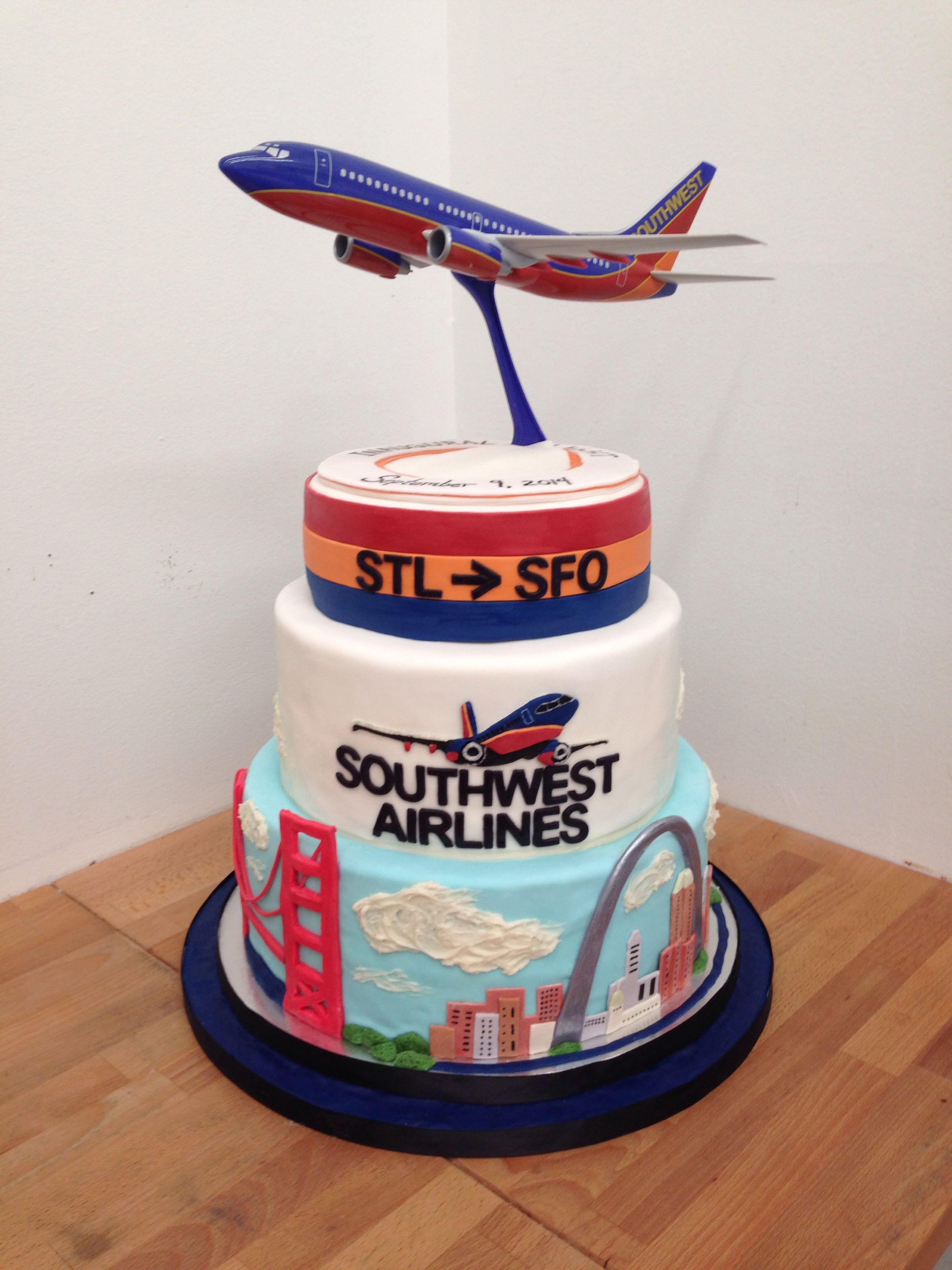 Southwest Airlines Cake Southwest Airlines Southwestcake