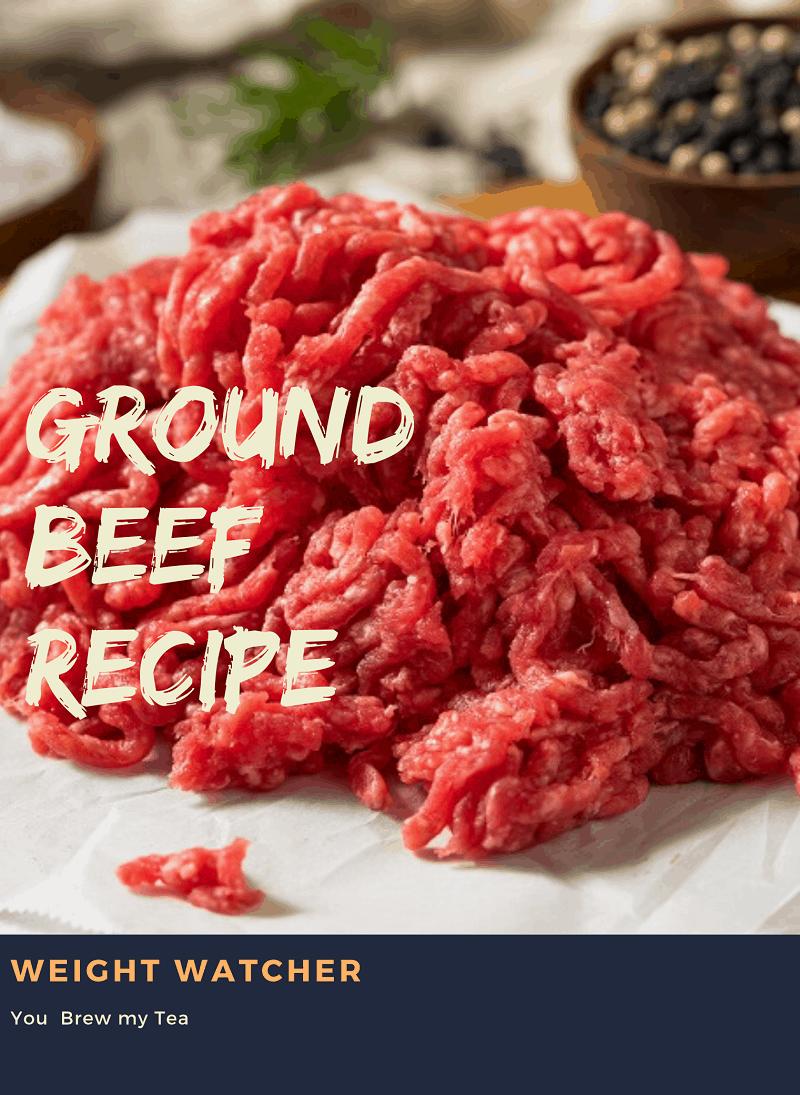 Weight Watcher Ground Beef Recipe Weight Watcher Ground Beef Recipe Ground Beef Recipes Beef Recipes