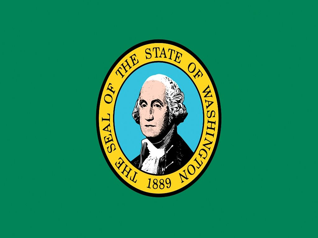 State flag from Washington