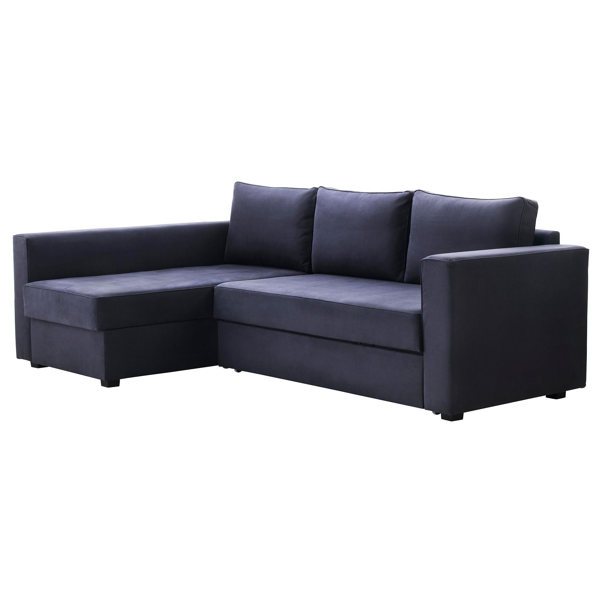 MÅnstad Corner Sofa Bed With Storage Gobo Blue Gray Ikea Genius And Simple Some More