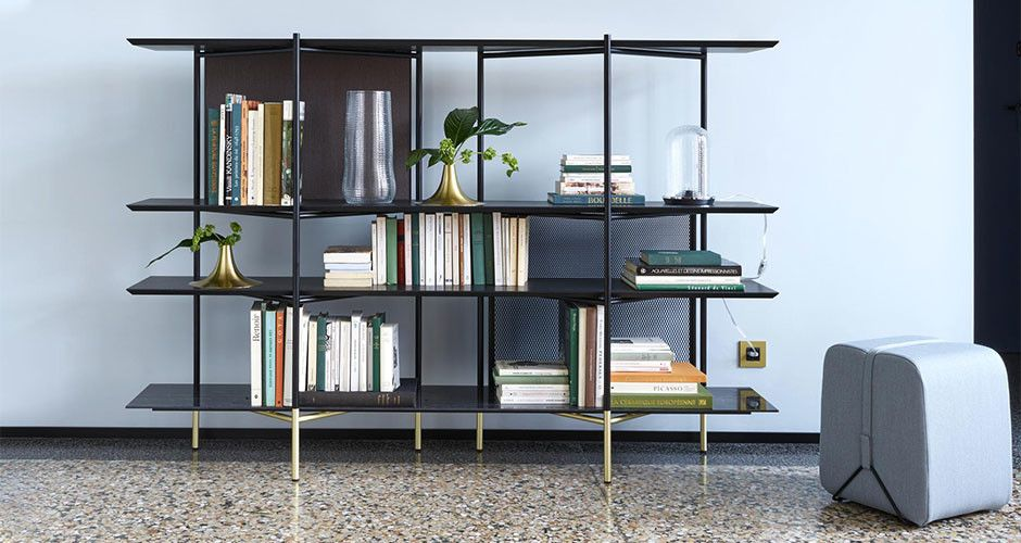 Clyde Bookcase By Ligne Roset Modern Shelving Units Los Angeles In