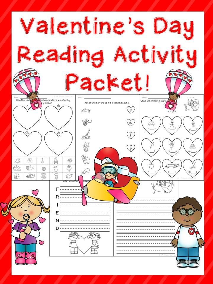 valentine 39 s day ela activities phonics worksheets and activities. Black Bedroom Furniture Sets. Home Design Ideas