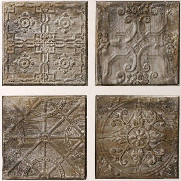 Embossed Tin Tiles Vintage Tin Tiles Tin Ceiling Tiles Vintage