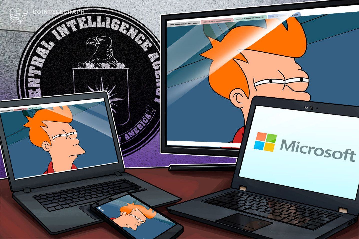 Ex Cia Agent Drags Microsoft S Crypto Patent Into Right Wing Conspiracy Blockchain Cryptocurrency Bitcoin