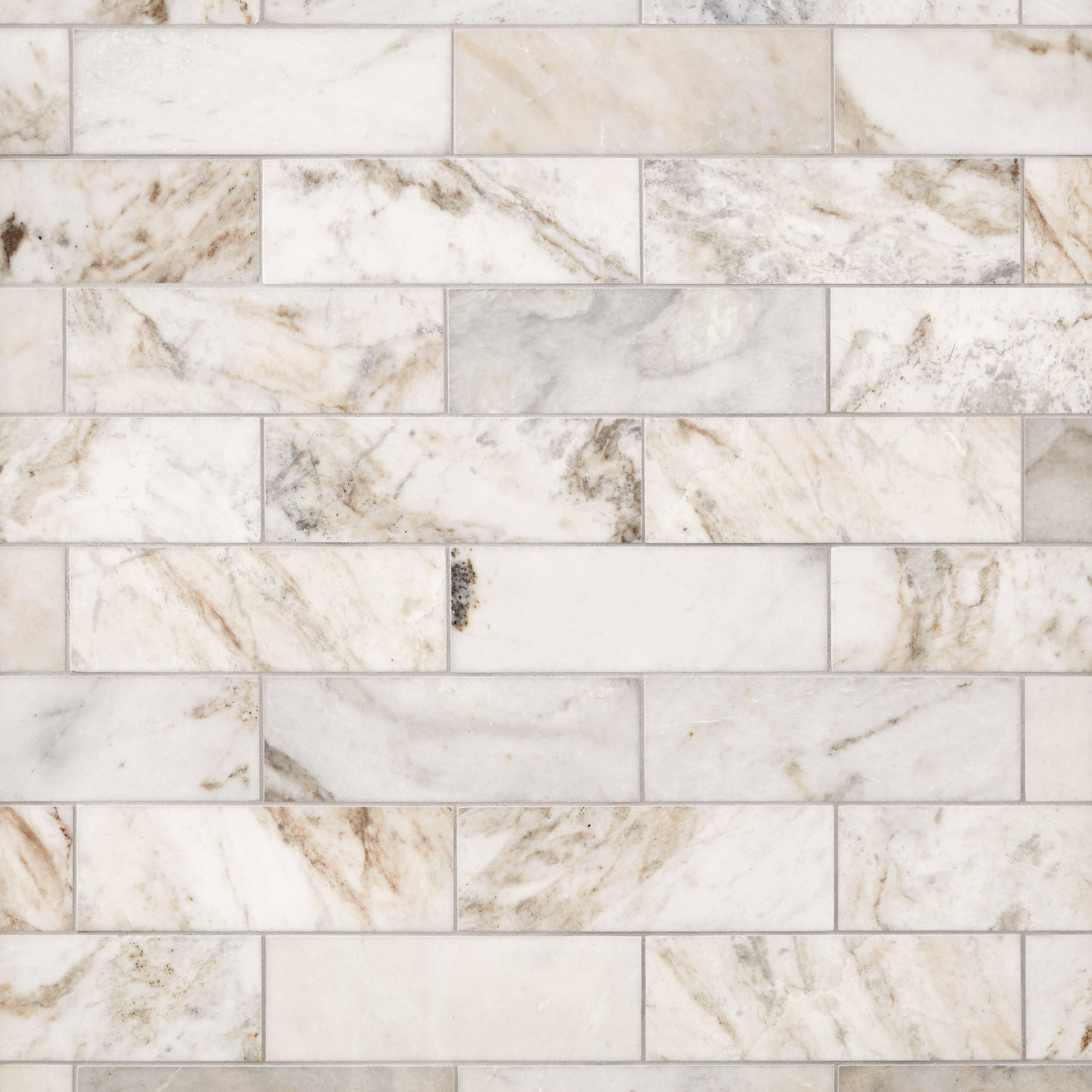 Bianco Orion Marble Tile Decorative Backsplash Kitchen Backsplash Designs Stone Backsplash Kitchen