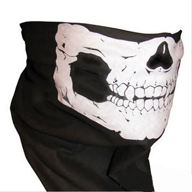 Skull Half Face Scarves Skeleton Sport Headband for Skiing Motorcycling Cycling Paintball Horror Mask Scarf for Halloween♦️ FASHION BookFace - Leading Global Online Shopping Site ♦️👉🏿 http://www.fashionbookface.com/products/skull-half-face-scarves-skeleton-sport-headband-for-skiing-motorcycling-cycling-paintball-horror-mask-scarf-for-halloween/ US $1.69