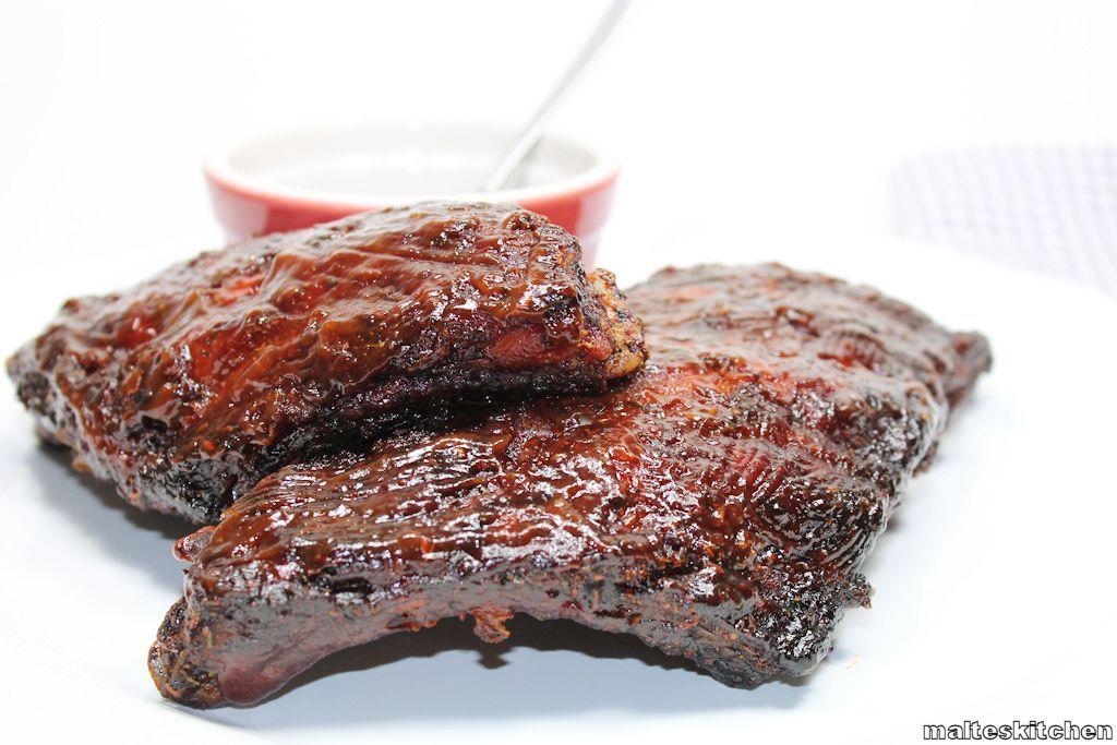 Rezept Spareribs Vom Gasgrill : Spare ribs vom grill mit süß saurer barbecue sauce rezept
