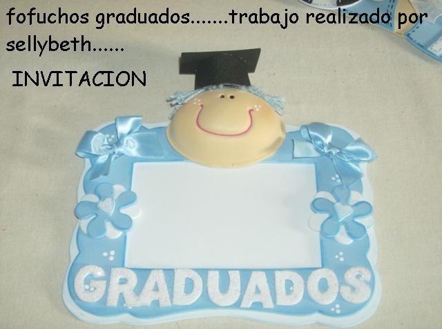 Tarjetas para invitación de graduación de preescolar - Imagui