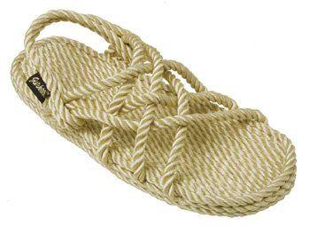 Amazon com: Gurkees Rope Sandals Womens - Neptune style