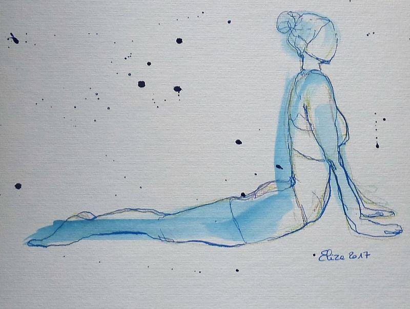 Yoga Et Dessin Etre Dans Le Moment Present Yoga